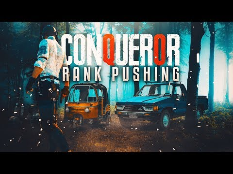 PUBG MOBILE RANK PUSHING TO CONQUEROR M416 6X OP SPRAY #yeyeyeyeye