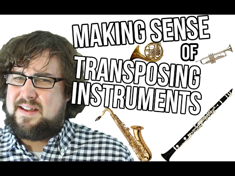 How To Transpose Instruments FAST - TWO MINUTE MUSIC THEORY #23