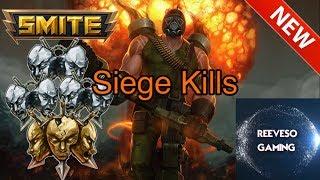 SMITE - VULCAN 3 DOUBLE KILLS 1 TRIPLE KILL