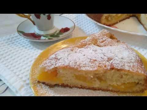 Вкусный и нежный пирог с абрикосами! / Простые рецепты