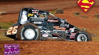 Austin Alumbaugh WAR Series Wrecked Car 10 26 2013 Springfield