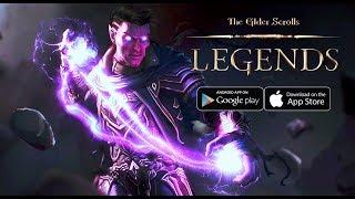 The Elder Scrolls: Legends TBT - Card Android Beta Gameplay
