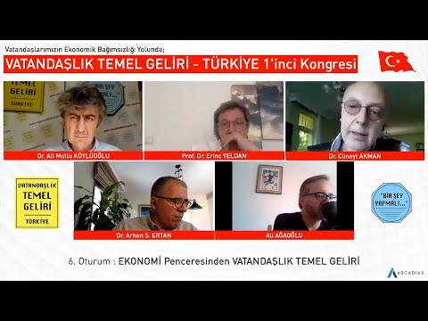EKONOMİ Penceresinden VATANDAŞLIK TEMEL GELİRİ / VTG TÜRKİYE 1'inci Kongresi