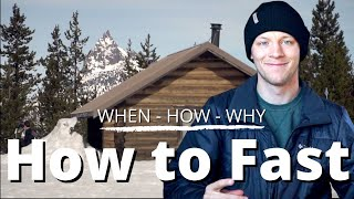 How to Fast | Bend, OR church