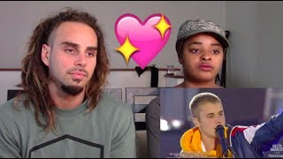 Justin Bieber Emotional Speech 'God Is In The Midst Of Darkness'  - REACTION