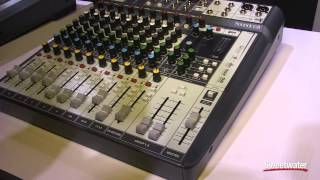 Soundcraft Signature Multitrack Series Consoles - Sweetwater at Winter NAMM 2015