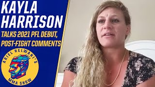Kayla Harrison reacts to Dana White's comments, says she'll be the GOAT | Ariel Helwani's MMA Show