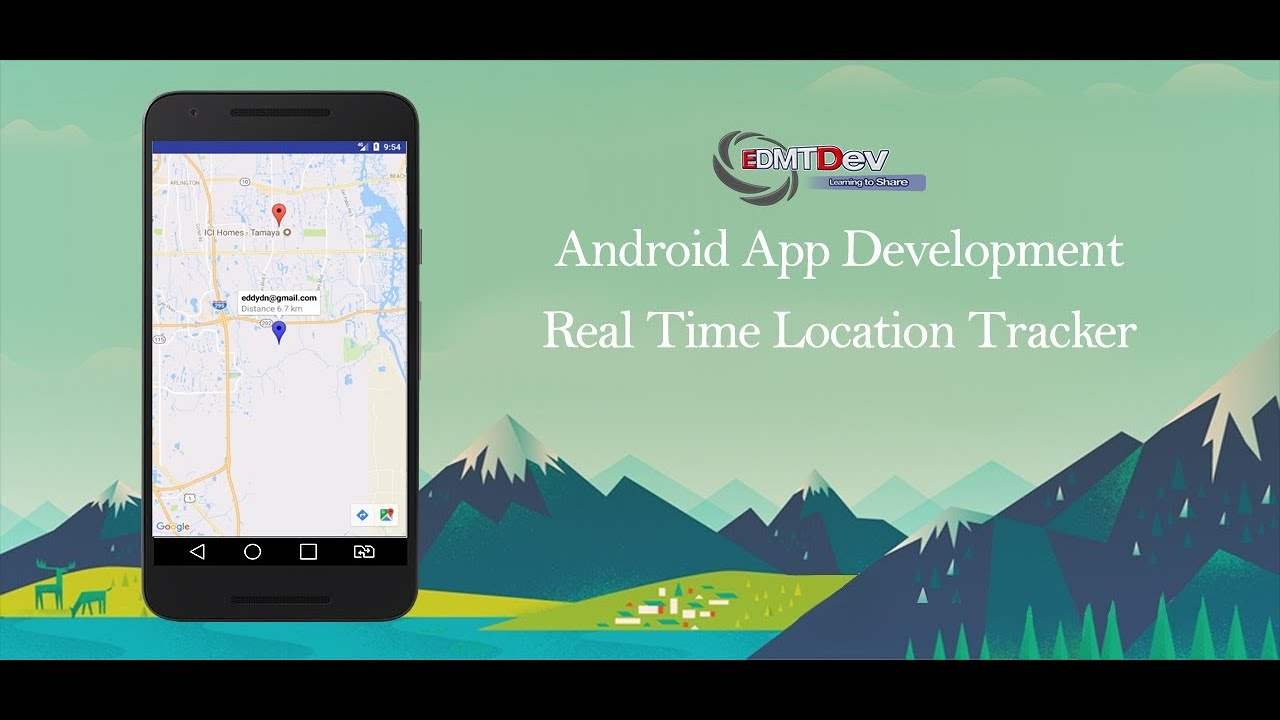 Android Studio Tutorial - Real Time Location Tracking Part 1 (Presence  System) edmt dev