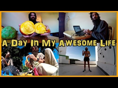A DAY IN THE LIFE: EVERYTHING I EAT AND DO || FRUIT | TRAINING | REWARDING WORK