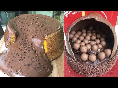 Amazing Chocolate Cake Decorating Ideas | Most Satisfying Chocolate Cake Ideas | So Yummy Cake