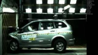 SsangYong Kyron 2WD 2006 Korean NCAP crash test