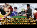 Lagi Tausiyah, Ustaz Zacky Mirza Jatuh Pingsan Saat Ucapkan LAILAHAILALLAH