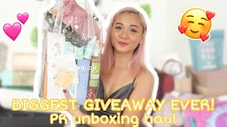 AUGUST PR UNBOXING HAUL! | Lou Sanchez