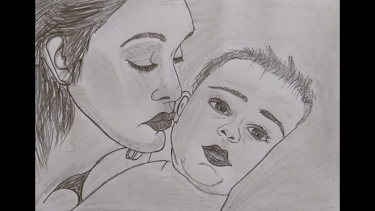 Happy mothers day mothers day special drawing