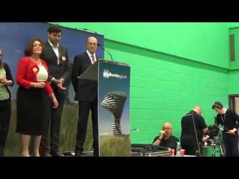 Burnley - General Election Declaration