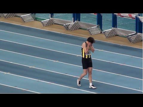 İstanbul U18 Türkiye Salon Şampiyonası 60 metre erkekler Final