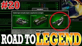 Tanki Online Road To Legend (sem comprar cristal #20) Rank Up