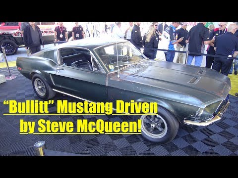 Bullitt 1968 Mustang GT to be Auctioned at Mecum Kissimmee.