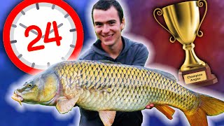 24 hour fishing battle - Carl Vs Alex Ep 3