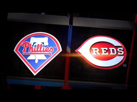 MLB The Show 17 Gameplay - Philadelphia Phillies vs Cincinnati Reds