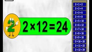 Multiplication tables 2 to 10   Multiplication songs for children   elearnin