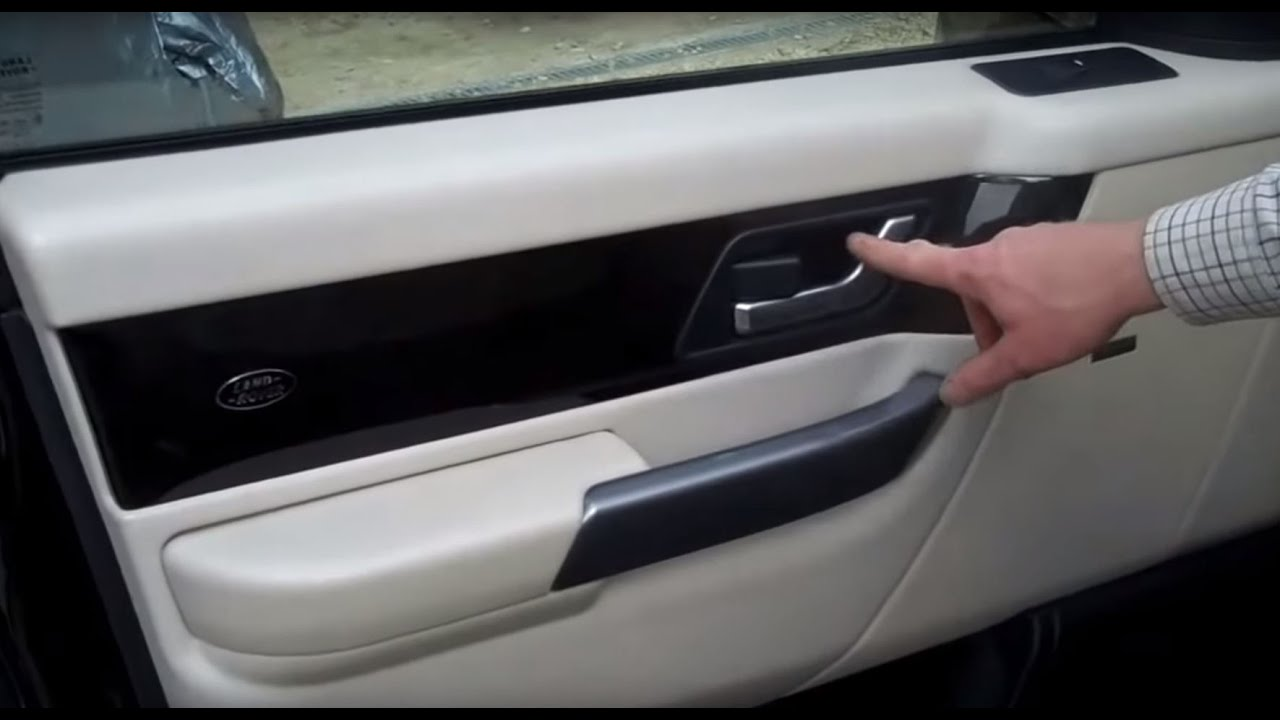 How To Remove The Front Door Card On A Range Rover Sport