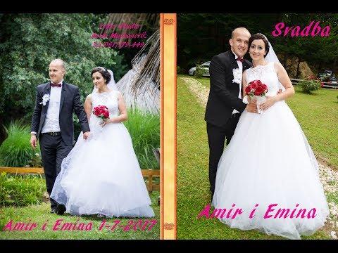 Svadba Amir i Emina (1) dio 1-7-2017  Vukovije Kalesija  Muz Marizela Brkić i Mirza Asim Snimatelj