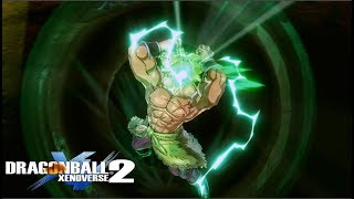 Gogeta Blue & Broly Full Power DLC 8 Gameplay - Dragon Ball Xenoverse 2