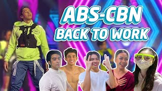 BACK TO WORK: BEHIND THE SCENES AT ASAP NATIN 'TO | Enchong Dee