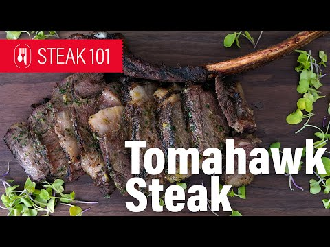 Tomahawk Ribeye is a showstopper