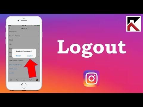 How To logout of Instagram