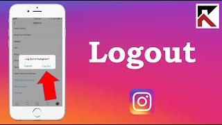 How To logout oḟ Instagram