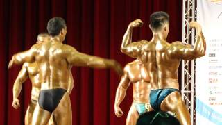 Repeat youtube video Men's Bodybuilding 85.1~90.0 kg final call-out