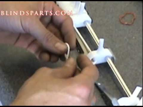 Vertical Blind Restring 102 - YouTube
