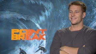 Luke Bracey Discusses the Extreme Stunts of 'Point Break'