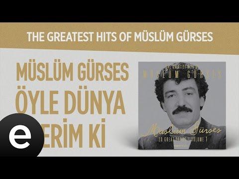 Öyle Dünya İsterim Ki (Müslüm Gürses) Official Audio #öyledünyaisterimki #müslümgürses