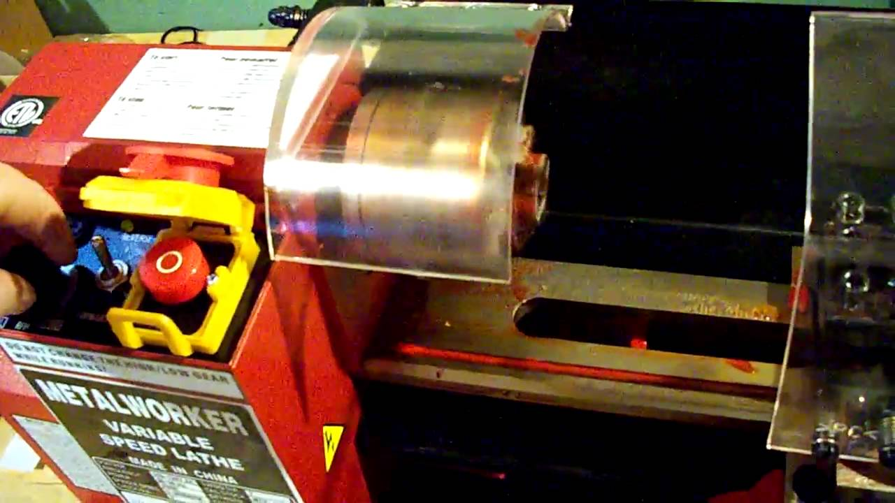 Mini Lathe From Princess Auto Youtube