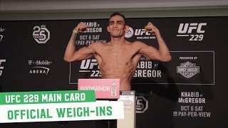 ufc on fox weigh-ins