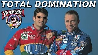 Gambar cover The 1998 NASCAR Cup Season was Dominated by Just Two Drivers: Jeff Gordon & Mark Martin