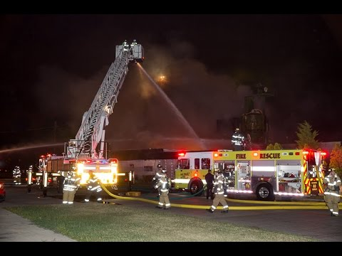 Elk Grove Township FPD IL Box Alarm Fire