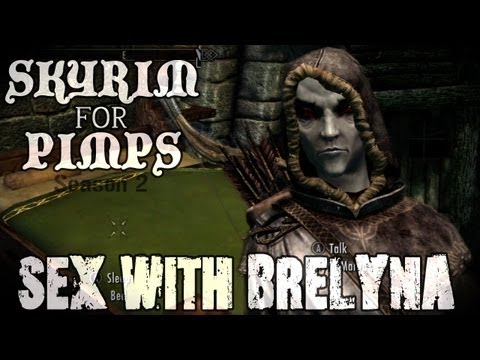 Skyrim For Pimps - Fun with Brelyna (S2E06) College of Winterhold Walkthrough