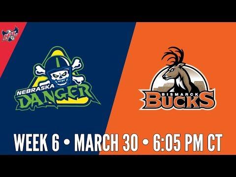 Week 6 | Nebraska Danger at Bismarck Bucks