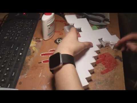 Как сделать алмазный меч из майнкрафта