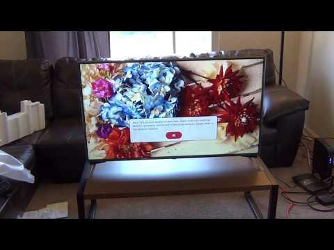 LG 49in 4K 49UJ6500 TV Unboxing