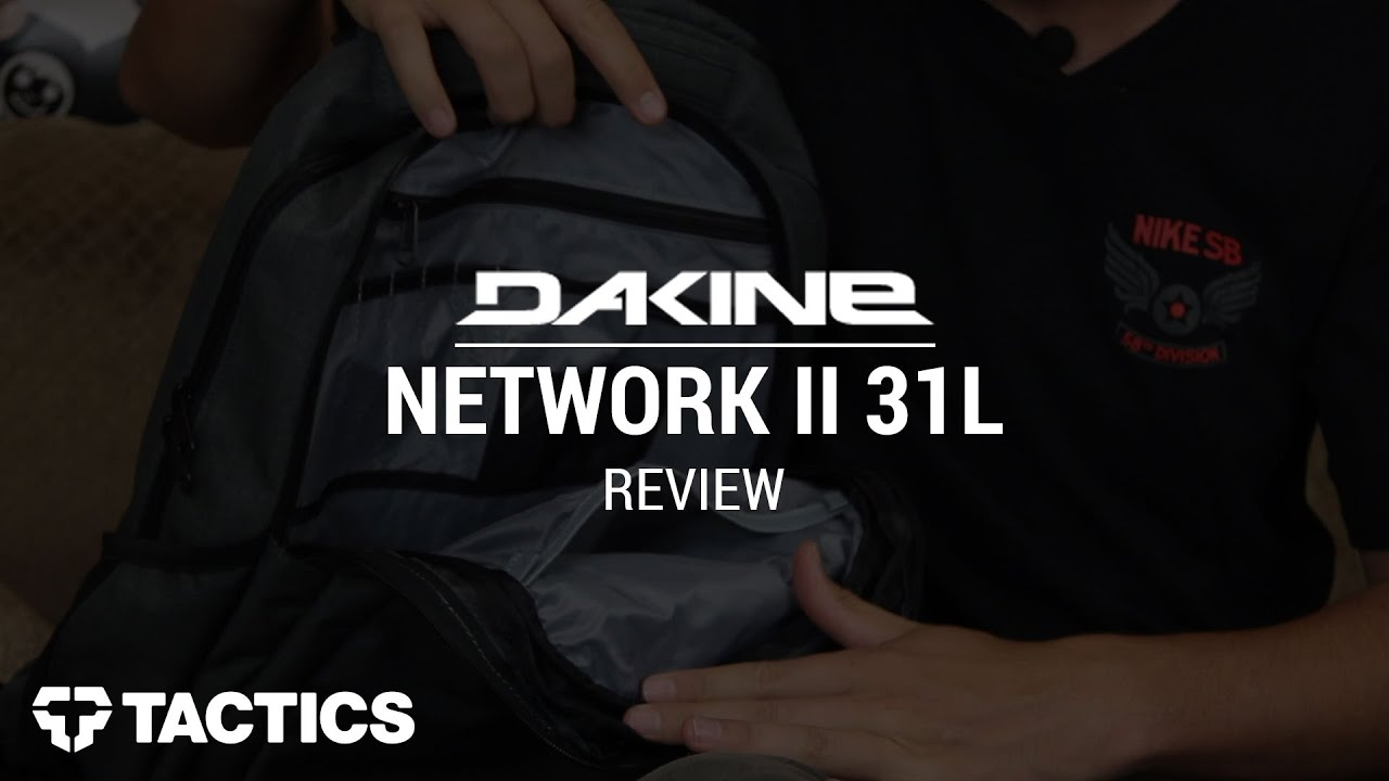 DAKINE Network II 31L 2015 Backpack Review - Tactics.com - YouTube