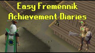 Achievement Diary - Easy Fremennik tasks | OldSchool Runescape