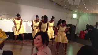 "Zambian wedding dance ""Be my wifey"""