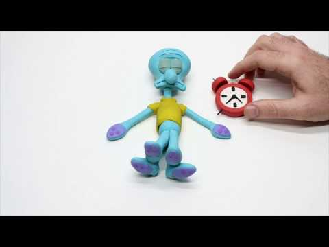 Stop motion Squidward
