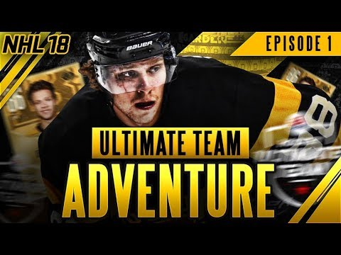 NHL 18 I Ultimate Team Adventure #1 'HUGE PULLS AND EPIC GAME!'