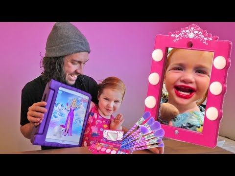 Kids Makeup Game – Princess Gloria Makeup Salon – Play Girls Makeover & Dress Up Fun Color Games